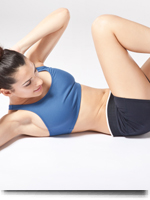 Ab Exercises At Home: Bicycle